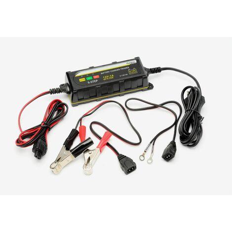 Varan Motors - BT-B1-0 Chargeur de batterie intelligent 12V 6V 4~120Ah + chargement 0.55A/1A
