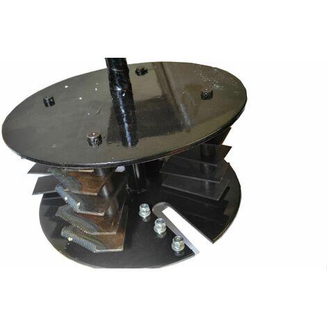 Varan Motors - completecuttingplate Juego completo de hoja de corte para triturador de vegetales térmico motors 93022 - Negro