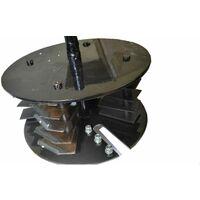 Varan Motors - completecuttingplate Set completo di lame per biotrituratore termico Varan Motors 93022