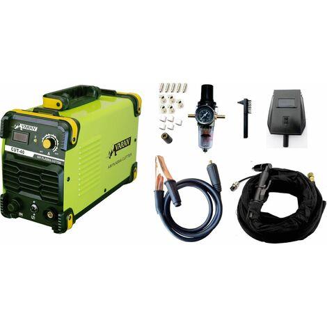 Varan Motors - CUT40 Découpeur Plasma 40A portatif CUT-40 Inverter IGBT + manomètre et écran digital - Vert
