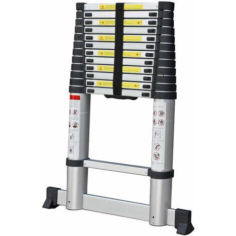Varan Motors - DLT212B-2019 Aluminum telescopic ladder 3,8m, 13 steps