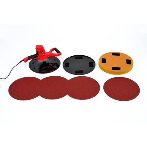 Varan Motors - DMJ-700F-5 Orbital sander for external & internal plaster 710w with 370mm discs