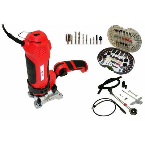 Varan Motors - DMX-550A-ACC Outil Scie Twist Saw Multifonctions 550W + Kit 286 accessoires