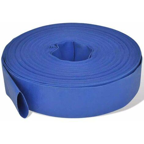 Varan Motors - flathose2-50M 2'' (50.8mm) PVC pressure hose, rollable, 50m roll