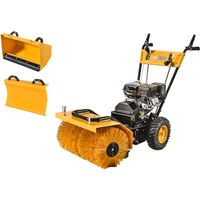 Varan Motors - KCB25 3 in 1 196CC Snow Removal Machine Loncin Motor with Electric Starter