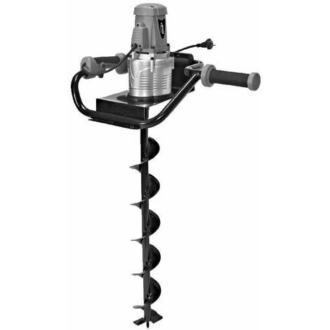 Varan Motors - KGT-ED9290 Tarière électrique 1200W + sabot de forage 100mm de diamètre