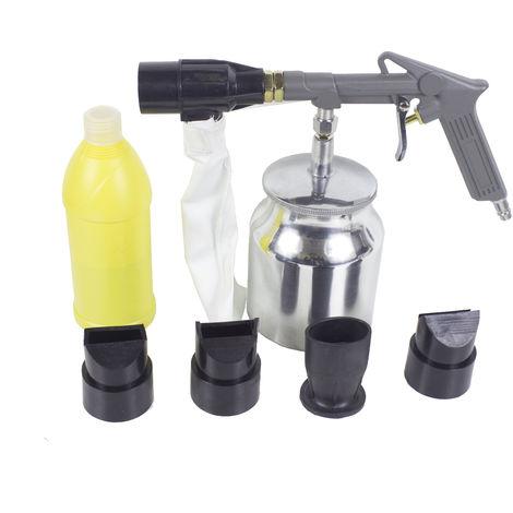 Varan Motors - LD-05 Pistolet de sablage avec poche de récupération Dispositif de sablage récupérateur