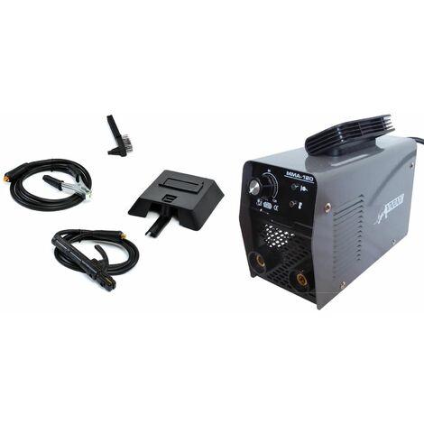 Varan Motors - mini-120 Estación de soldadura por arco portátil 120A Inversor + Accesorios