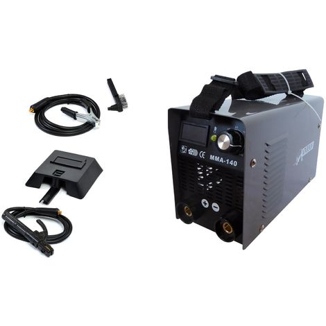 Varan Motors - mini-140 Portable arc welding station 140A Digital Display + Accessories