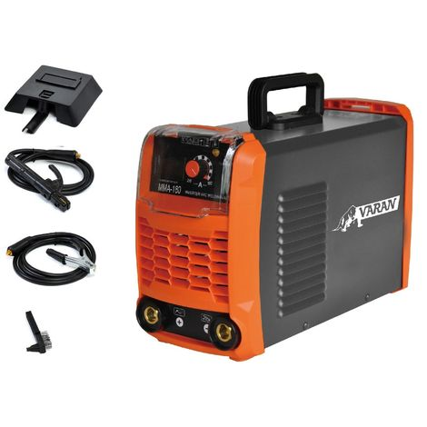 Varan Motors - mini-180 Portable arc welding station 180A Inverter Digital Display + Accessories