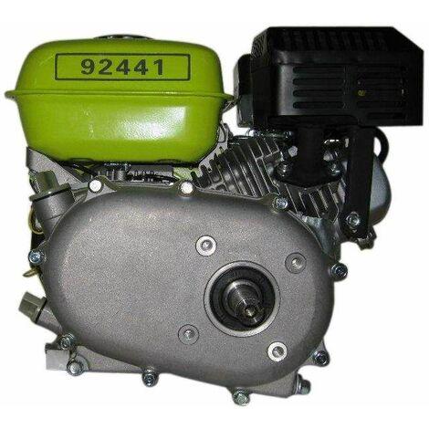 Varan Motors - 92441 Motore a benzina 6,5CV, 4,8 kW con frizione a bagno d'olio, riduttore 1/2, albero a chiavetta 19,96mm.
