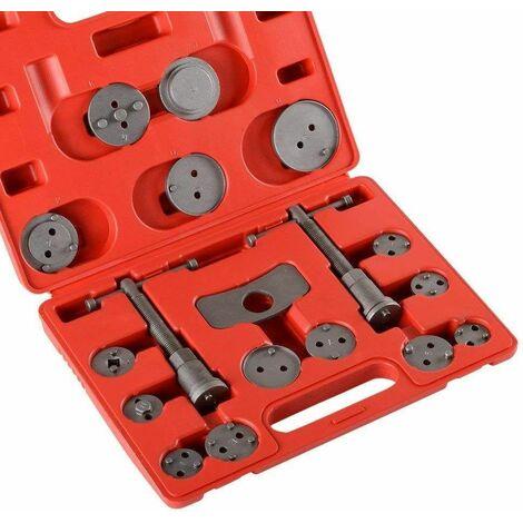 Varan Motors - NEBCW-01 Set Repousse piston d'étrier de frein, Kit d'outils 19 pièces