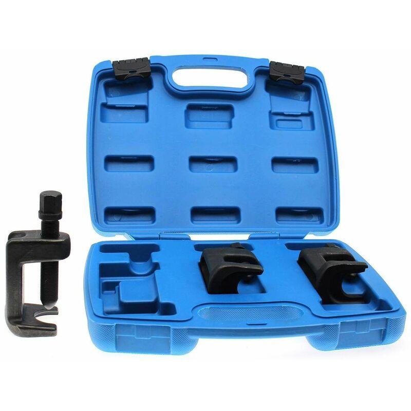 NEBJE-01 Kit de extractores de rótulas, separadores de rótulas, 3 piezas - Rojo - Varan Motors