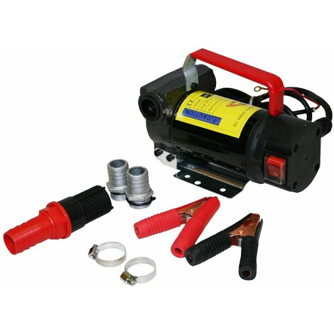 Varan Motors - NEBP-01 Pompe pour vidange de diesel et huile par aspiration 12volts 175W - Noir