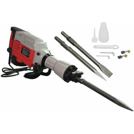Varan Motors - NEDB-01 Jackhammer - chipping hammer Demolition Hammer 1700W 43 joules + 2 chisels