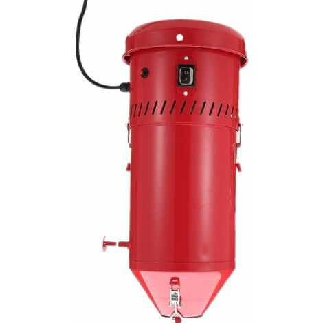 """main image of """"Varan Motors - NEDC-15 Colector de polvo para cabina arenadora 1100W 230V - Rojo"""""""