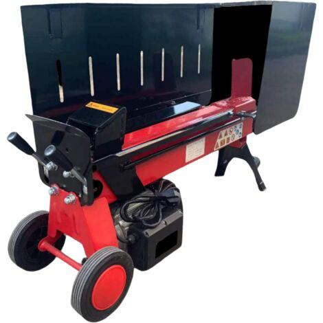 Varan Motors - NEELS-04 Elektrischer Holzspalter 2900W 230V, Druck 7 Tonnen, Holzscheit bis 52cm