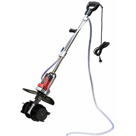 Varan Motors - NEEMR-01 Mezclador eléctrico de 1200w con bomba de agua para yeso, cemento, mortero, pegamento de azulejos, yeso.... - Rojo