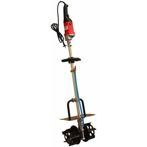 Varan Motors - NEEMR-02 Mezclador de 1800w Mezclador con suministro de agua para yeso, cemento, mortero, adhesivo para baldosas, yeso, etc... - Rojo