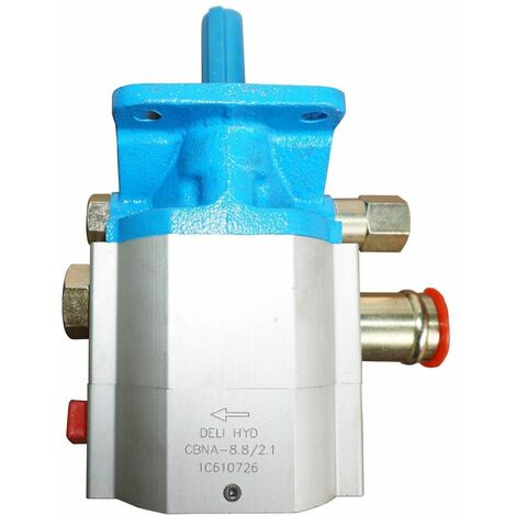 Varan Motors - NEHGP-01 Zweistufige Hydraulikpumpe Zahnradpumpe CNBA-8.8/2.1 11GPM 3000PSI