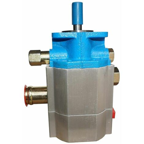 Varan Motors - NEHGP-03 Pompe hydraulique double étage Pompe à engrenages CNBA-15/3.0 18GPM 3000PSI