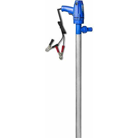 Varan Motors - NEHHP-23 bomba eléctrica para barriles 12v 600W 60l/min, bomba para barriles de queroseno y gasoil - Azul
