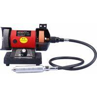 Varan Motors - NEMBG-01 Mini Meuleuse polisseuse d'établi 150W + flexible pour outils multifonctions