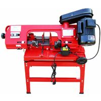 Varan Motors - NEMCB-02 Band saw for metal 370W 230v with support and vice + vertical and horizontal angular cut.