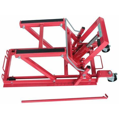 Varan Motors - NEMEL-01 Pont élévateur 450kg, plateforme élévatrice, béquille d'atelier pour moto, quad, scooter, tondeuse