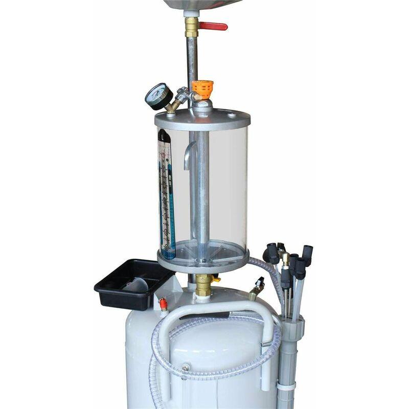 Dispositivo di Raccolta dellolio Aspiratore di Olio 80L Estrattore Pneumatico di Olio