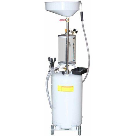 Varan Motors - NEOLD-16 Récupérateur d'huile de vidange pneumatique par aspiration et par gravité 80 litres