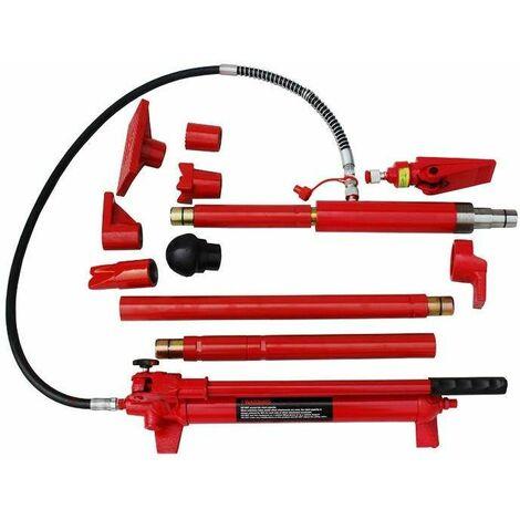 Varan Motors - NEPPJ-04 Kit de redressement et débosselage carrosserie presse hydraulique 10T