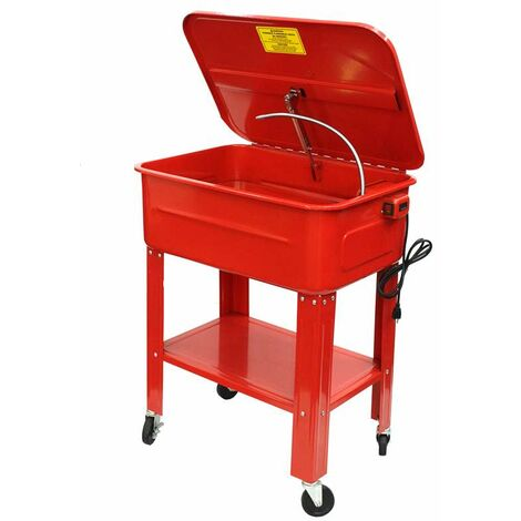 Varan Motors - NEPW-02 20 GALLON PARTS WASHER CLEANER 230V PUMP FREE STANDING WORKSHOP CLEANING NEW