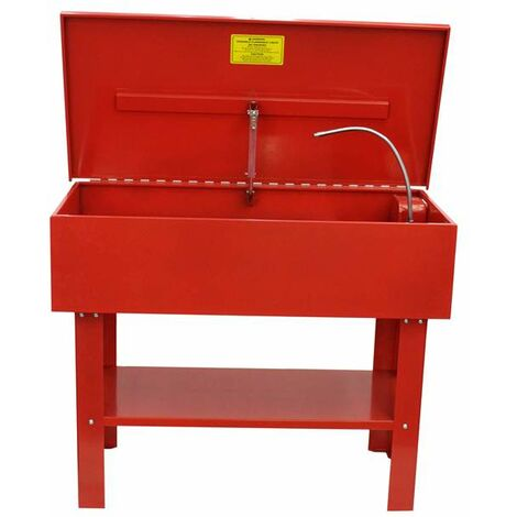 Varan Motors - NEPW-04 40 GALLON WORKSHOP PARTS WASHER CLEANER WITH PUMP TANK CLEANER BENCH 150L