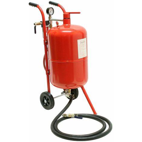 Varan Motors - NESB-02-2 Sableuse mobile 38 litres 0-10 Bars avec Accessoires