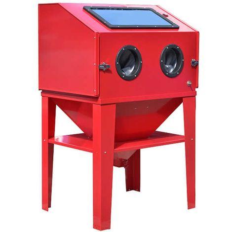 Varan Motors - NESB-10 350 litre blasting cabinet, microblasting machine, sleeve blasting machine with accessories