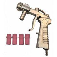 Varan Motors - NESB-14-1 Pistolet de sablage + 4 buses pour cabine de sablage et sableuse mobile