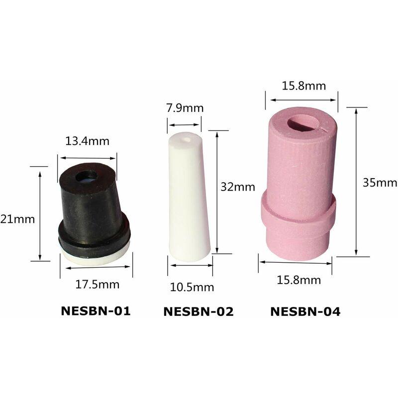 Varan Motors - NESBN-04 REPLACEMENT CERAMIC NOZZLES FOR SANDBLASTING SIZE  4/5/6/7 FOR SANDBLASTING GUNS