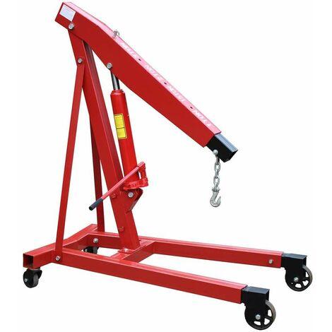 Varan Motors - NESC-04 Grue d'atelier 3 Tonnes / Chèvre d'atelier 3T - Rojo