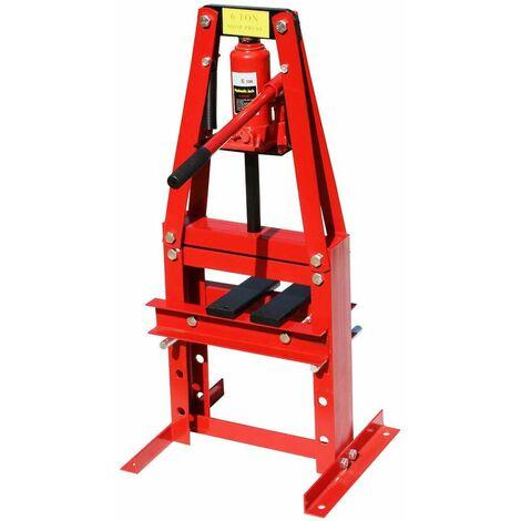 Varan Motors - NESP-06-2 Hydraulic workshop press, 6 Tons with piston