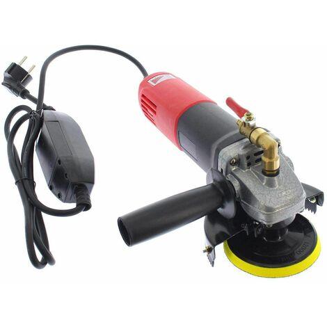 Varan Motors - NEWTG-01 Pulidora de agua 860W 230V, Ø100mm 1000-5000 rpm, lijadora húmeda