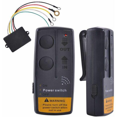 Varan Motors - PN060 Télécommande sans fil universelle pour treuil, avec récepteur, 12v