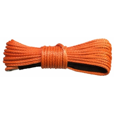 Varan Motors - Rope10mm Synthetic rope for winch 10mm X 28M load capacity 9000Kg