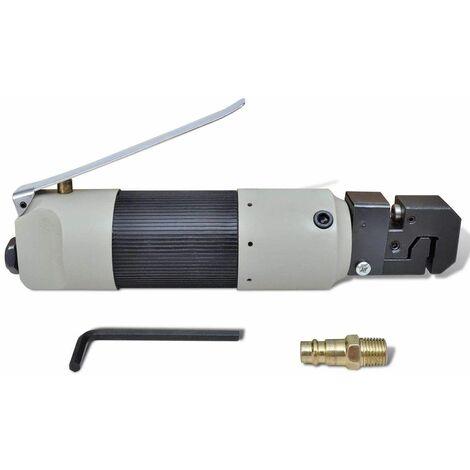 Varan Motors - SPT-19006 Soyeuse Pneumatique Poinçonneuse Pneumatique Pour Acier, Aluminium et Autres - Gris