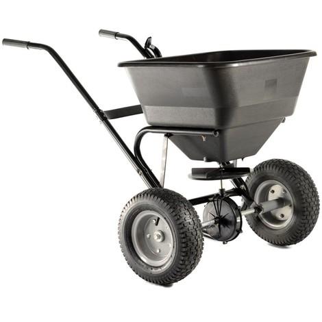 Varan Motors - TC2028 Fertilizer spreader, seeds, sand or salt, load up to 30KG / 45L + Air Tires