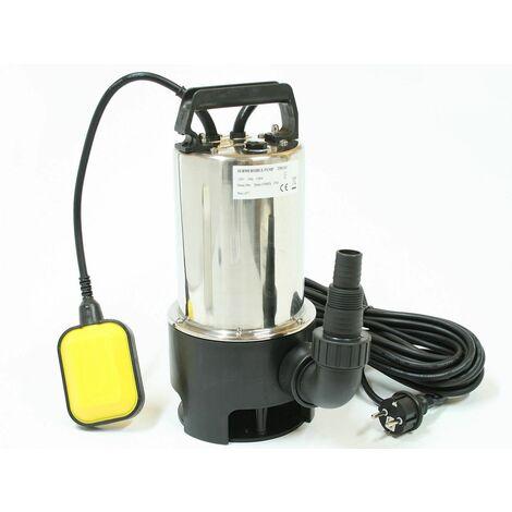Varan Motors - TP01111 BOMBA SUMERGIBLE ELECTRICA PARA AGUA CARGADA - 35MM - 1100W / 14000L/H