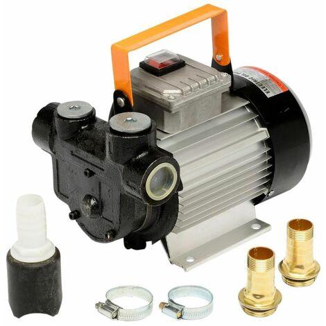 Varan Motors - tp04022 Bomba para fuel, bomba de trasiego degasoil 230V 60l/min - 550W- 3600L/H - Gris