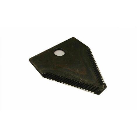 Varan Motors - triangularblade Lame de rechange triangulaire pour broyeur de végétaux thermique, 8.3x7.5x0.3cm - Noir