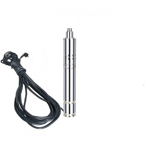 Varan Motors - TSSM08-40-028 SUBMERSIBLE WATER PUMP DOR DEEP WELL OR DRILLING 40m 280W, 2.5HP, 4M³/H + 15 CABLE MAST