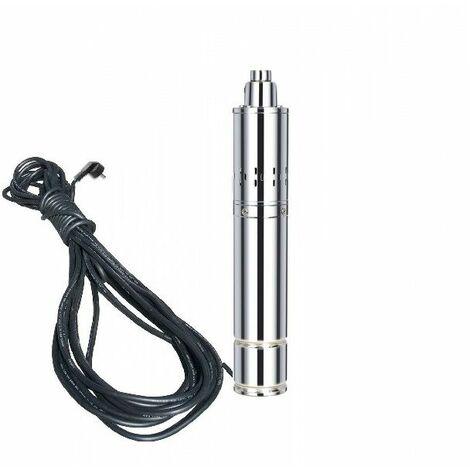Varan Motors - TSSM15-120-11 Bomba de agua sumergida para pozos profundos o perforación 120m 1.1Kw, 1.5m³/h + 15m de cable
